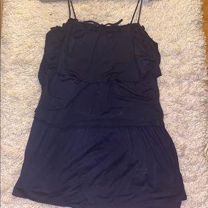 Women's navy blue Ella Moss dress